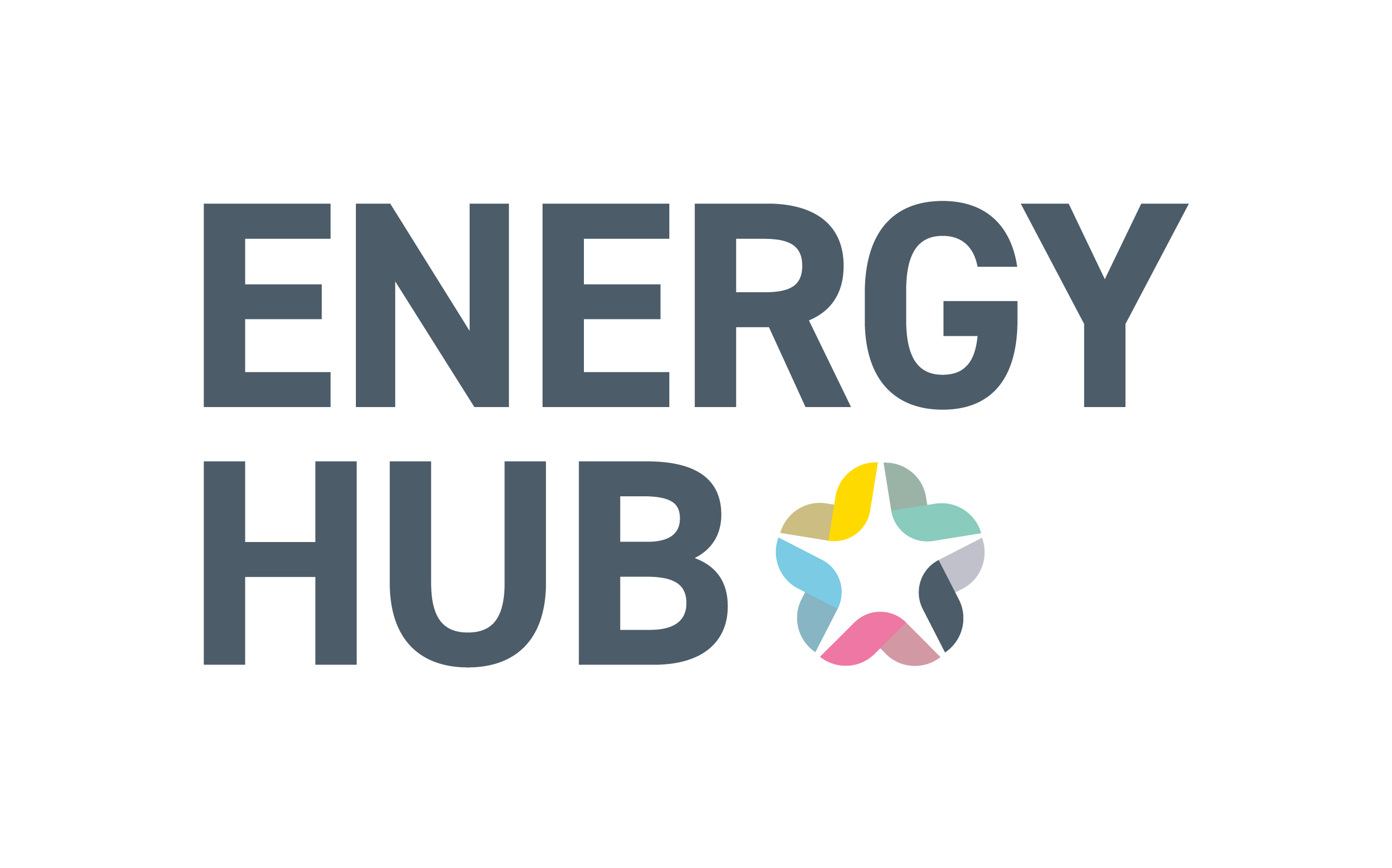 This image shows the logo of the Energy Hub.