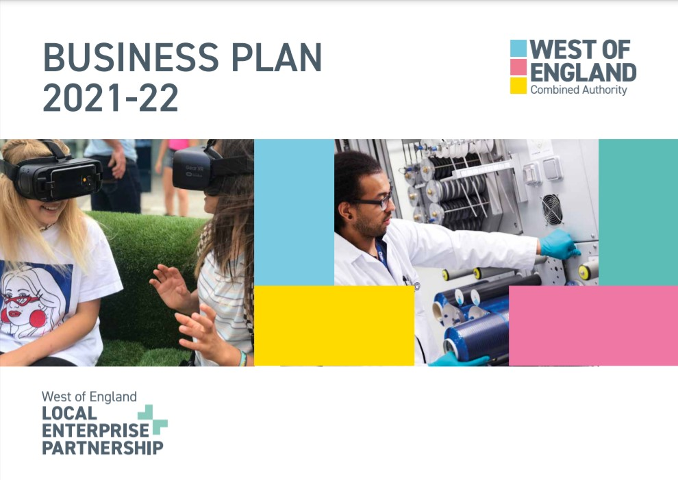 Business plan 2021-2022 cover image