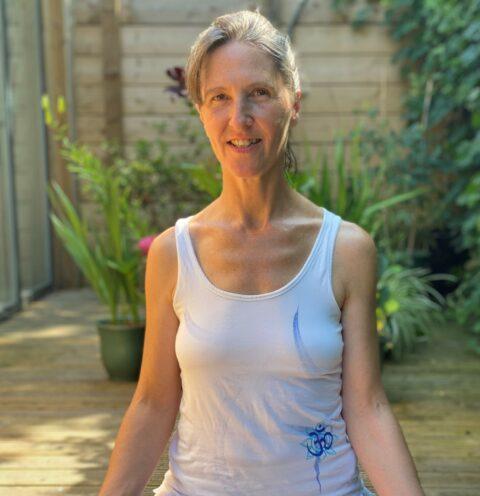 Lindi Lu, a yoga instructor from Bath