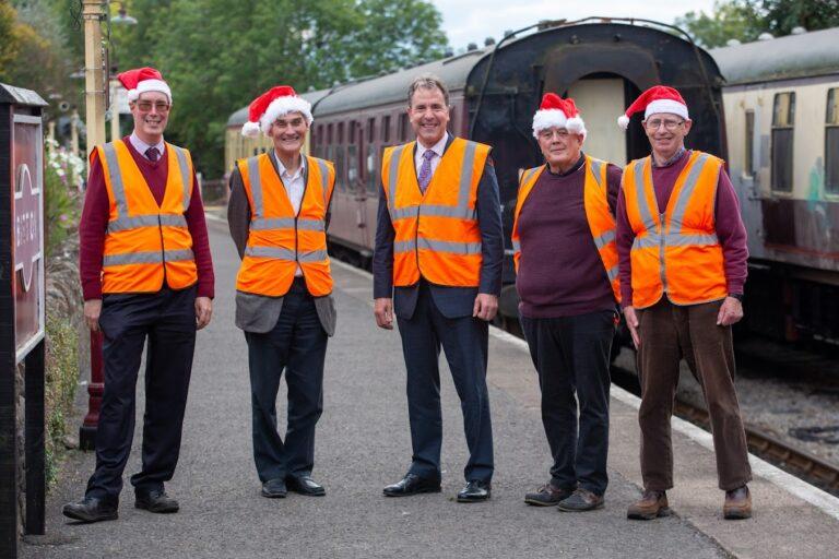 Dan Norris at Avon railway